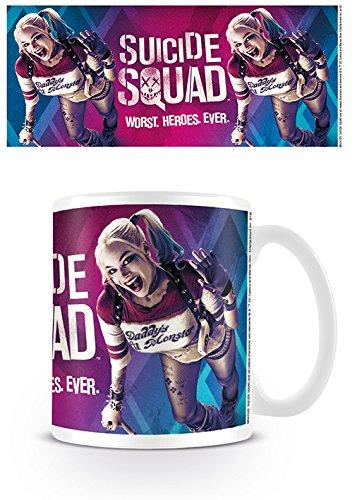 Suicide Squad - Ceramic Coffee Mug (Harley Quinn Wave)