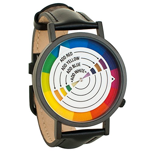 (Color Wheel Art Graphic Designer Unisex Analog Watch)