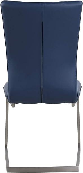 Milan SC-BLU Elina Cantilever - Silla Auxiliar, Color Azul: Amazon.es: Juguetes y juegos
