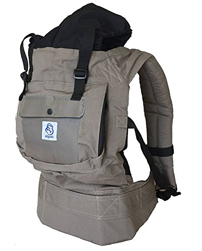 Baby Carrier for carrying your baby Handsfree - Baby carrier ergonomically...