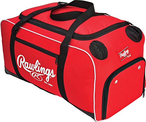 Bags Bat Catchers (Rawlings Covert Player Duffle Bag, Scarlet)