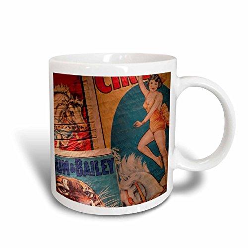 3dRose Florida, Sarasota, Ringling Museum, Circus Museum - Walter Bibikow, Ceramic Mug, 11-Oz