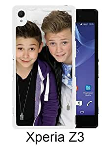 Great Quality Sony Xperia Z3 Case ,Bars and Melody White Sony Xperia Z3 Cover Case Hot Sale Phone Case Unique And Beatiful Designed