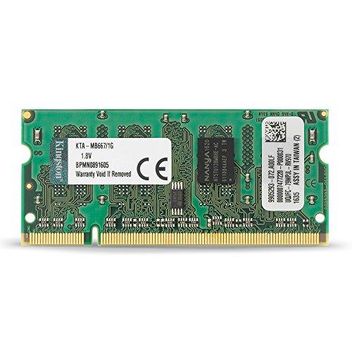 Memory Module 1gb Ddr2 (Kingston 1 GB DDR2 SDRAM Memory Module For Mac 1 GB (1 x 1 GB) 667MHz DDR2667/PC25300 DDR2 SDRAM 200pin KTA-MB667/1G)