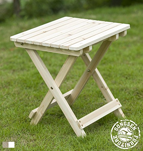 Adirondack Cedar Side Table - 7