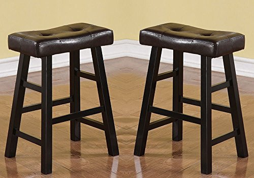 Country Series - Bobkona Mauro Country Series Counter Stool - 24