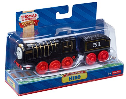 Thomas & Friends Fisher-Price Wooden Railway, Hiro - Battery Operated