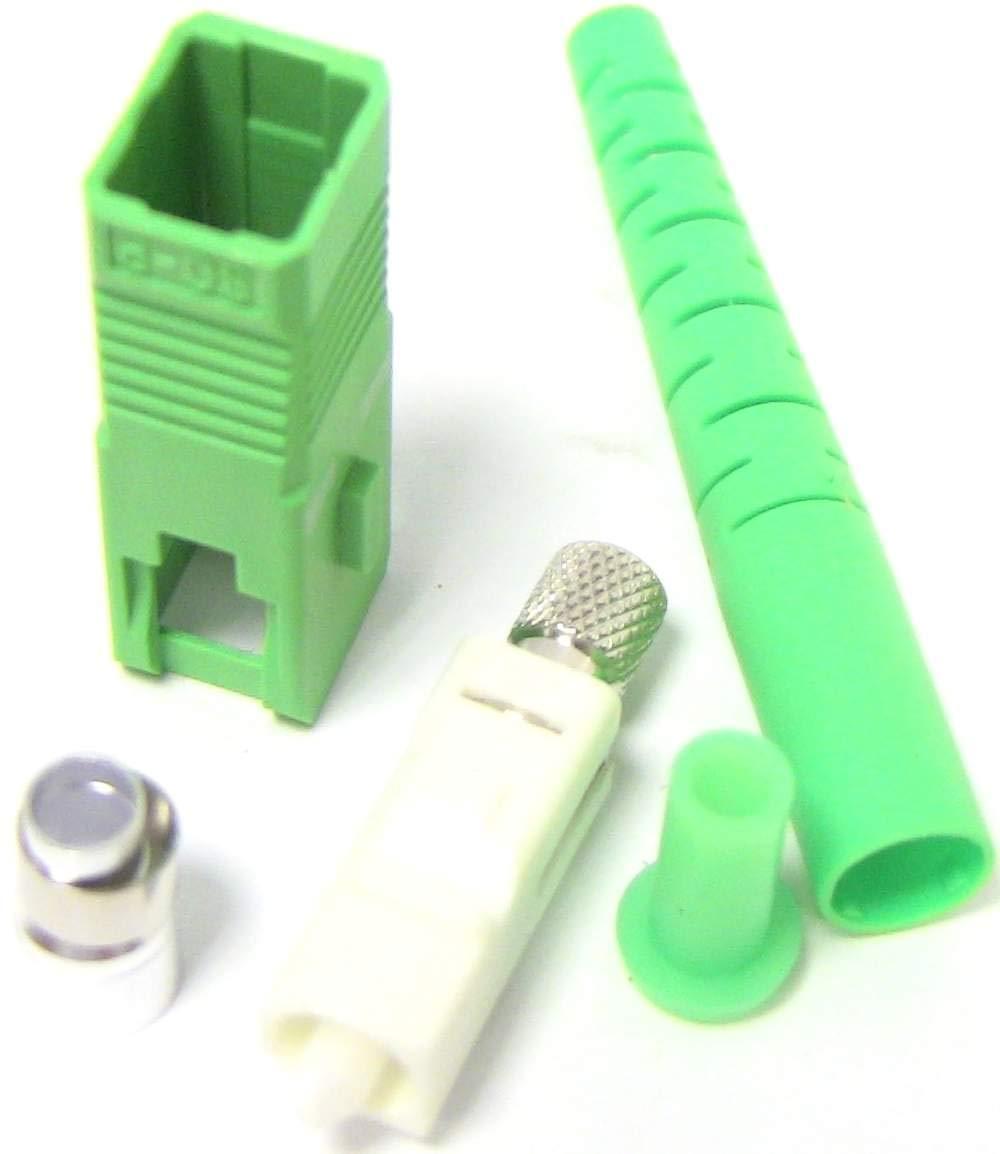 BeMatik - Fibre optique Connecteur SC/APC monomode 3, 0 mm BeMatik.com