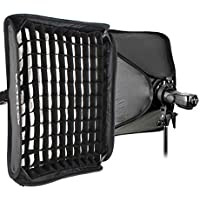Godox 60x60cm Softbox +Grid + S-type Bracket Bowens Holder+ Bag Kit for Camera Flash