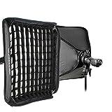 Godox 60x60cm Softbox +Grid + S-type Bracket Bowens Holder+ Bag Kit for Camera Flash