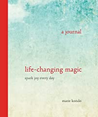 A gratitude journal from the New York Times bestselling author and star of Netflix's Tidying Up with Marie Kondo. What sparked joy in your life today?This gratitudejournal from lifestyle guru Marie Kondo provides a space for you to notice an...