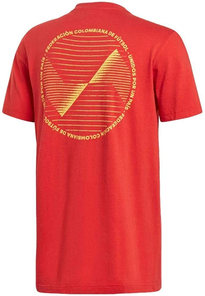 adidas Mens Colombia Limited Edition Graphic Tee 2019