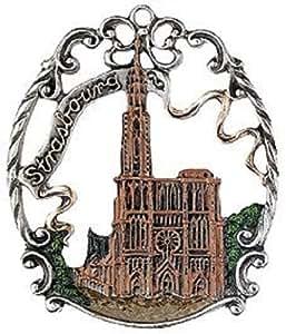 Estrasburgo francia peltre adorno de navidad hogar for Amazon decoracion navidad