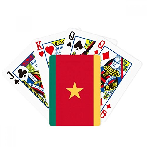(DIYthinker Cameroon National Flag Africa Country Poker Playing Cards Tabletop Game Gift)