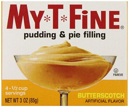(My-T-Fine Pudding, Butterscotch, 3 Ounce (Pack of 12) by My-T-Fine)