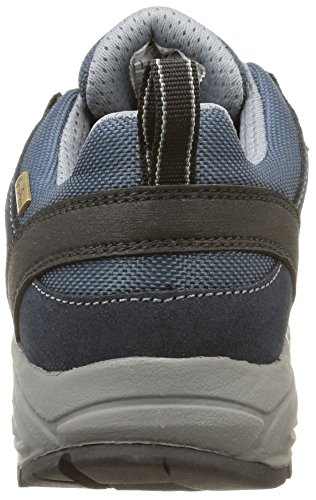 Hi-Tec - Cosmic Wp, Scarpe da escursionismo Donna, Bleu (Charcoal/Black/Blue), 37