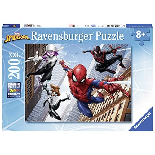 Ravensburger 12694 - Puzzle Spiderman 200 Pièces