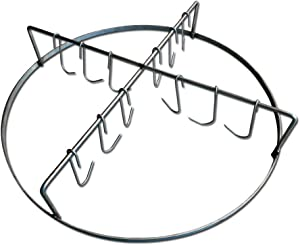 LavaLock Rib Hanger for WSM WeberSmokey Mountain - Stainless Steel Meat Hanging System with Rib