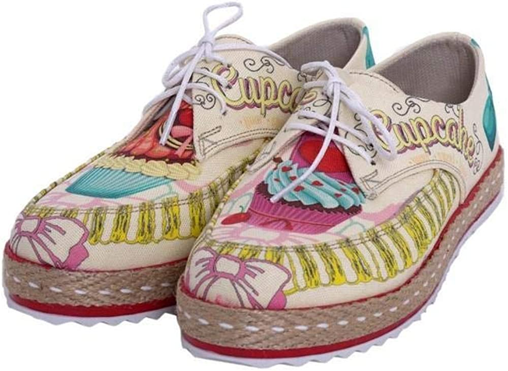 Goby Cupcake Slip on Sneakers Shoes HSB1684