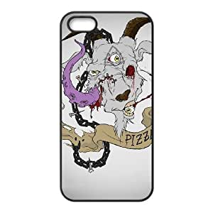 iPhone 4 4s Cell Phone Case Black PIZZA GOAT LSO7907723
