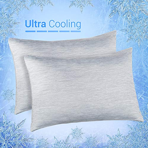 Elegear Cooling Pillowcases for Night Sweats and Hot Flashes