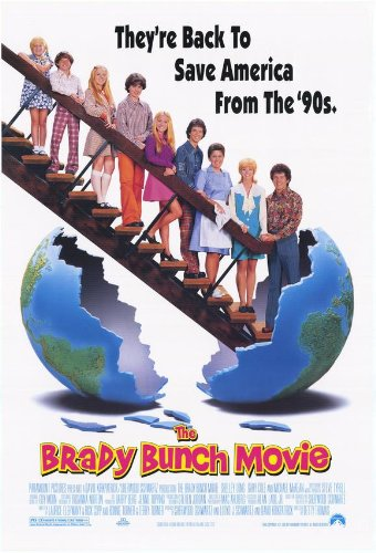 The Brady Bunch Movie Poster Movie Shelley Long Gary Cole Michael McKean Jean Smart