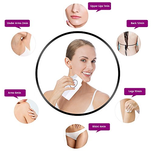 MyM Newest Model Hair Removal Device Permanent Light-Based Face and Body for Women And Men Home Use 300,000 Flash For All Skin Tone And Hair Color by MY M (Image #3)