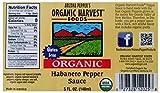 Organic Harvest Gluten Free Habanero Pepper Sauce, 5 Fluid Ounce - One Bottle