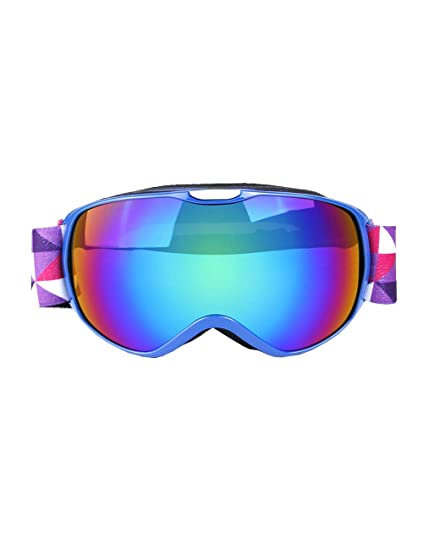 6196b04ece ROLLBERTO Kids Ski Goggles for Boys and Girls Helmet Compatible Snow Goggles  with 100% UV