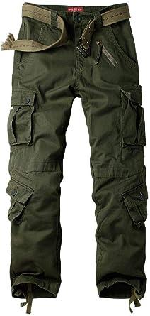 Amazon Com Pantalones Tacticos De Las Mujeres Pantalones De Trabajo De Carga Ocasionales De Algodon Pantalones Militares De Combate 8 Bolsillos Clothing