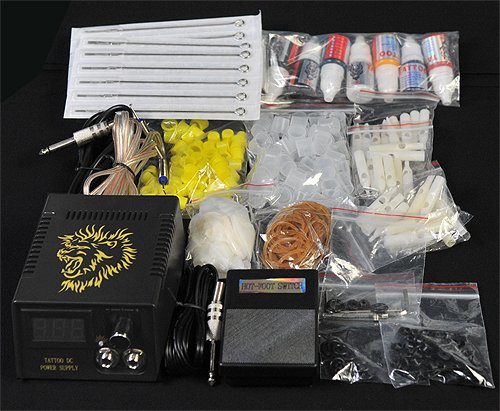 6 Gun Tattoo Machine Kit Tattoo Gun Kit By JRFOTO S-T06 Tattoo...