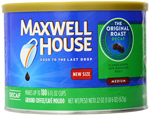 Maxwell Blood Original Roast Decaf Coffee, 22.0 Ounce