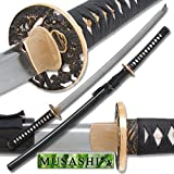 Musashi - 1060 Carbon Steel - Clay Tempered Samurai Sword
