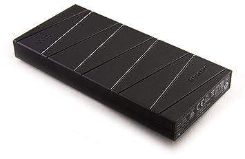 Lenovo PB500 Power Bank, 10000 mAh, Slim Design, Polymer core, Dual-output USB interfaces, Black, GXV0J50547