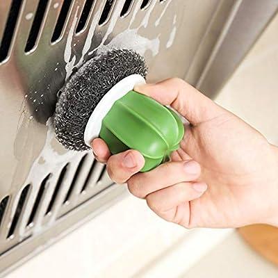 Hunpta - Cepillo de limpieza (2 unidades, acero inoxidable ...
