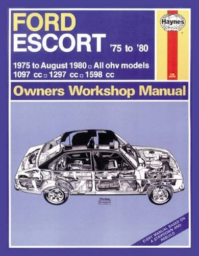 ford escort owner s workshop manual 75 80 haynes publishing rh amazon com Ford Pinto Ford EXP