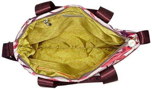 Rosso Shopper Dark secchiello Donna Borse a Oilily Lvz Ruffles Red Oqw5440