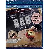 Sale Prof - Bad Teacher (English/French) 2011 (Widescreen) Doublé au Québec (Cover Bilingue) Non Censurée - Unrated Edition