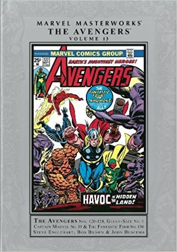 Amazon.com: Marvel Masterworks: The Avengers - Volume 13 ...