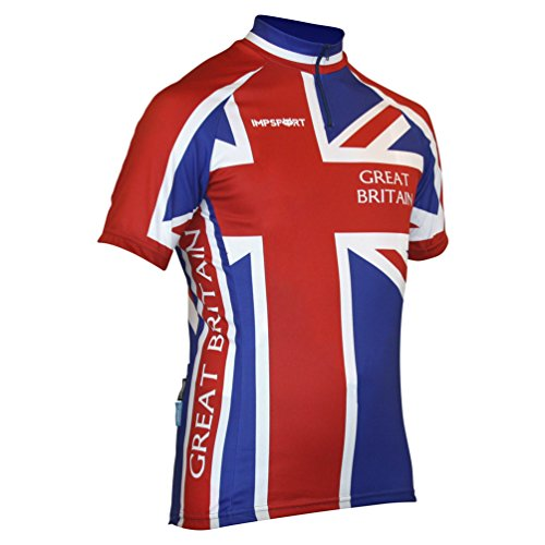 Impsport Großbritannien Radsport Trikot Herren- und Damengrößen
