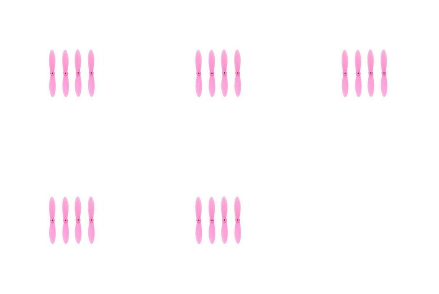 5 x Quantity of WLtoys V272 All Pink Nano Quadcopter Propeller blade Set 32mm Propellers Blades Props Quad Drone parts - FAST FROM Orlando, Florida USA