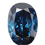 0.14 Ct Natural Loose Diamond Cut Oval Shape Blue Color 3.80X2.70X1.60 MM SI2 Clarity N5557