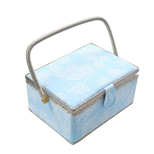 blue sewing basket - 6