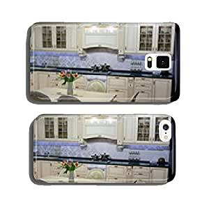 Kitchen interior with flowers cell phone cover case iPhone5