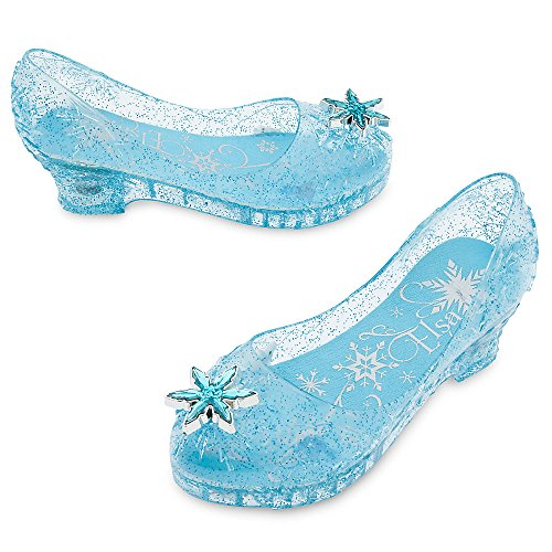 Disney Frozen Light-Up Costume Shoes for Kids Size 9/10 YTH