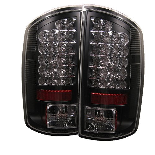 Spyder Dodge Ram 1500 02-06/ Ram 2500 02-05 /Ram 3500 02-05 LED Tail Lights – Black