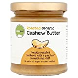 Wholegood Organic Cashew Nut Butter 170g (Pack of 4)