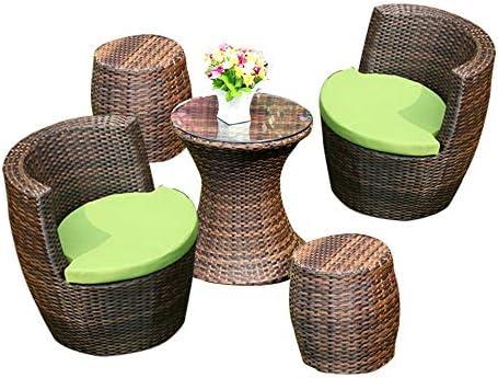 مجموعة الأثاث للطاولة والمقاعد الخارجية للأثاث والشرفات كرسي