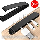 PZOZ Cable Clips, 3 Pack Cord Organizer Charger