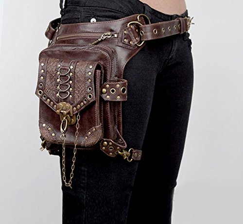 Gothic And Pockets Steampunk Punk Messenger Bag Family Personality Women Men Travel YFqBqw7